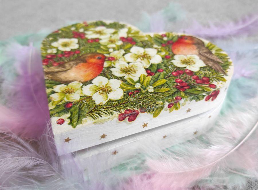 Pudełko ozdobne Świąteczne Serce - Świąteczne Serce 2