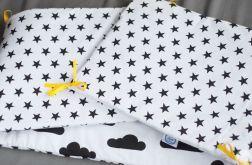 Ochraniacz do łóżeczka black&white