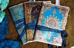 Zestaw 3 orientalnych notesów