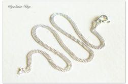 925 Srebrny Łańcuszek Pancerka 50cm