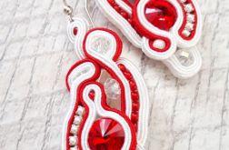 Kolczyki z kryszałami Swarovskiego