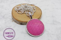Medalion - Różowy wzorek - Fabricate