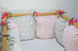 Modułowy ochraniacz do łóżeczka 6 szt N20