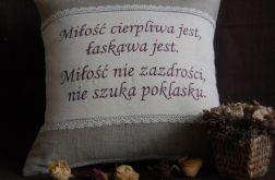 """Poduszki """"Rustykalna miłość"""""""