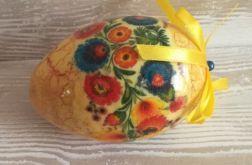Jajko zdobione w stylu folk