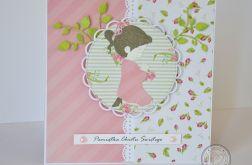 Kartka na Chrzest dla dziewczynki nr 3
