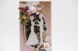 W dniu ślubu - kartka w pudełku2
