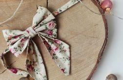 Muszka / Mucha DAMSKA - kwiaty vintage