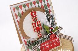 Dziadek do orzechów - kartka świąteczna