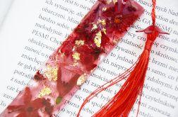 Zakładka do książki - rainbow czerwień