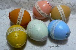 Wydmuszki z cukierkami - pastelowe
