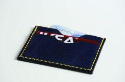 Minimalistyczny portfel skórzany