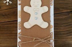 Kartka świąteczna z ciastkiem #37