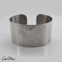 Gładka - metalowa bransoleta 190804-09