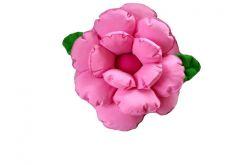 Poduszka kwiat jasny róż