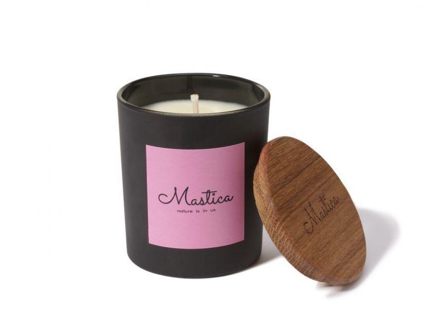 Mastica Mango&Chilli-świeca sojowa,wegańska - Otul się zapachem świecy Mastica i poczuj klimat.