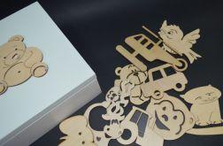 Pudełko pełne magnesów Miętowe