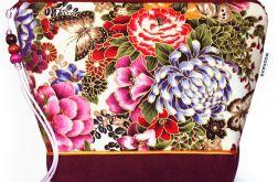 kosmetyczka - Asian Garden - bakłażan L
