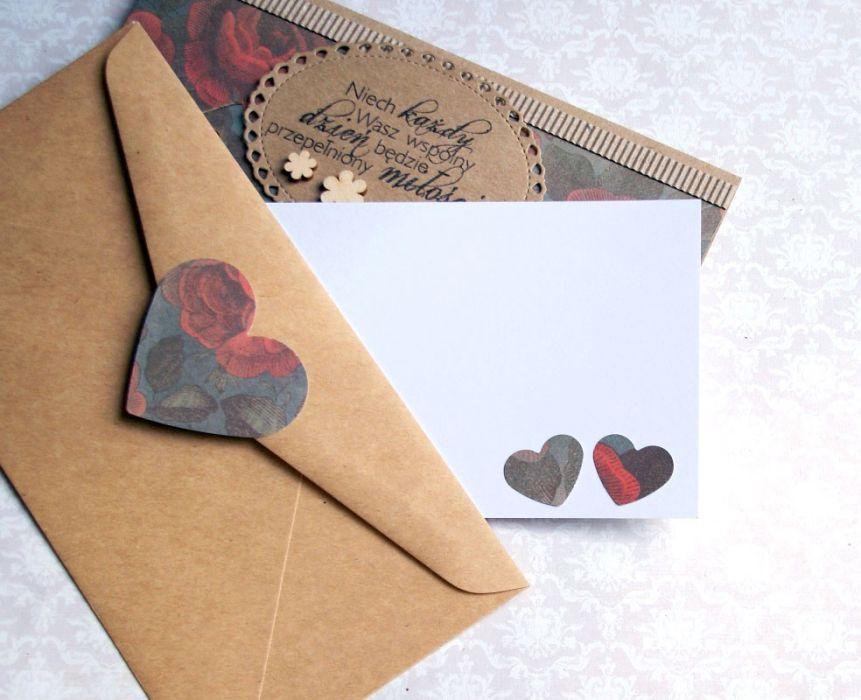 kartka - kopertówka :: piwonie