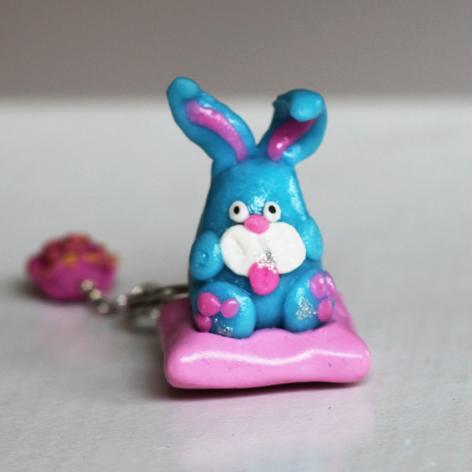 Breloczek - uroczy króliczek