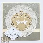 Kartka z okazji 50 rocznicy ślubu Złote Gody -