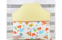 Poduszka dla dziecka - Domek Misia