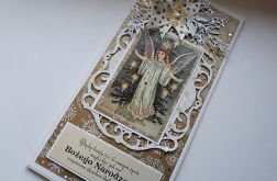 Kartka BN z aniołem 2