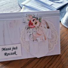 Kartka na roczek #7