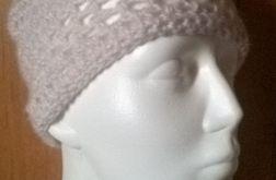 czapka szara