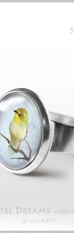 Pierścionek - Śpiewający ptaszek