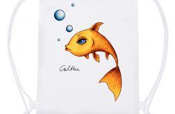 Złota rybka - plecak typu worek