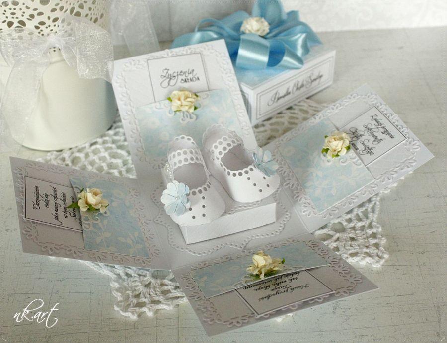 Exploding box na Chrzest Święty 13 -