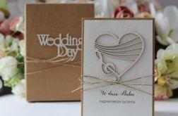 Stylowa kartka ślubna 18