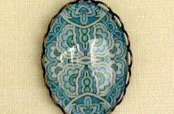 Medalion z kaboszonem 4