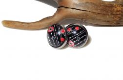 Kolczyki sztyfty – Minu
