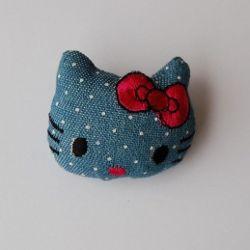 Broszka - kotek