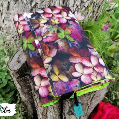 Otulacz / etui na książkę ~ jesienne liście