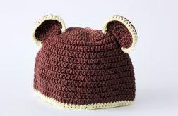 Misiowa czapka dla dzieci