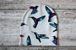 Czapka Kolibry rozmiar 38-44 cm(beanie)