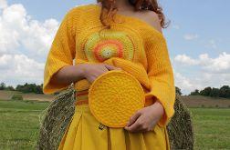 nerka okrągła żółta