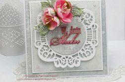 W Dniu Ślubu- kartka z pudełkiem
