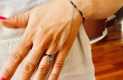 Bransoletka z pierścionkiem - model 1