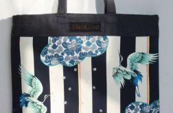 torba worek ptaki w deszczu- na Fundację