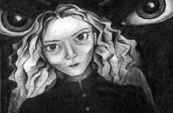 Oczy - oryginalny rysunek 0209