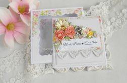 Ślubna kartka w pudełku 137