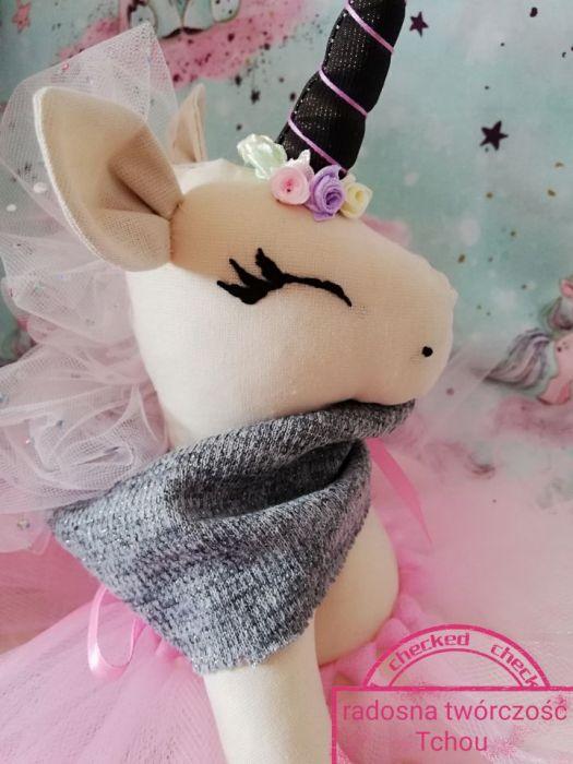 Różowy Jednorożec bawełny unicorn