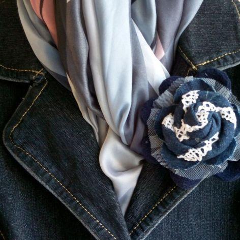 Broszka III-Kolekcja Blue Jeans