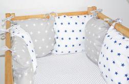 Modułowy ochraniacz do łóżeczka 6 szt N16