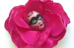 Broszka Masquerade - Queen of Hearts
