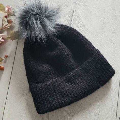 Gruba czapka zimowa unisex